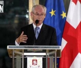 Herman Van Rompuy first visited Tbilisi in Jul, 2012 (Interpressnews)