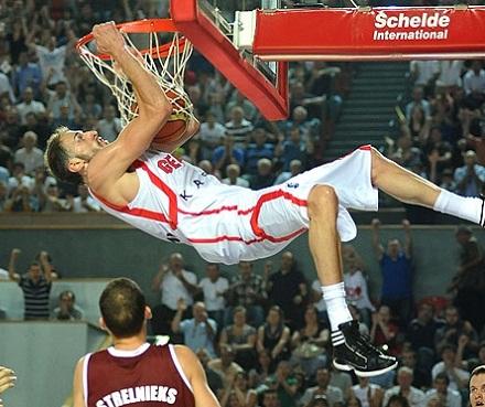 In Latvian Woman Basketball League 91