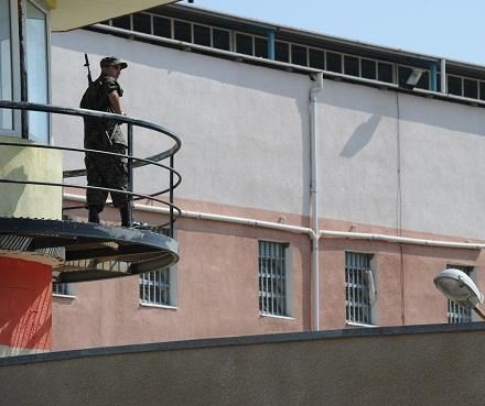 gldani prison guard tower