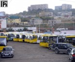 buses on strike