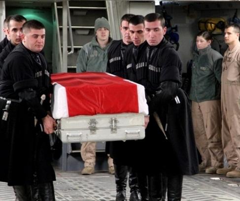 Giorgi Kikadze - ISAF Afghanistan - 2013-01-03