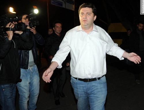 Bacho Akhalaia sentenced to three years, nine months