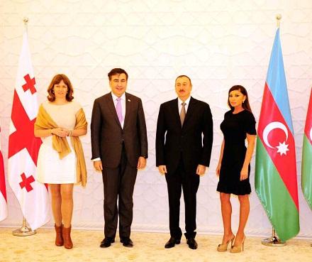 sandra roelofs - mikheil saakashvili - ilham aliyev - mehriban aliyeva - 2013-02-28