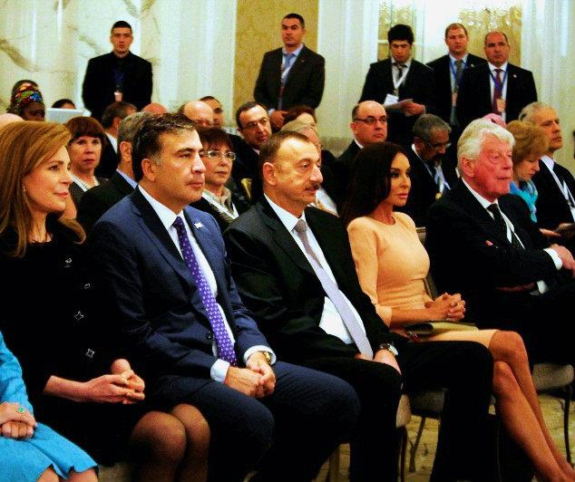 mikheil saakashvili - ilham aliyev 2013-05-07