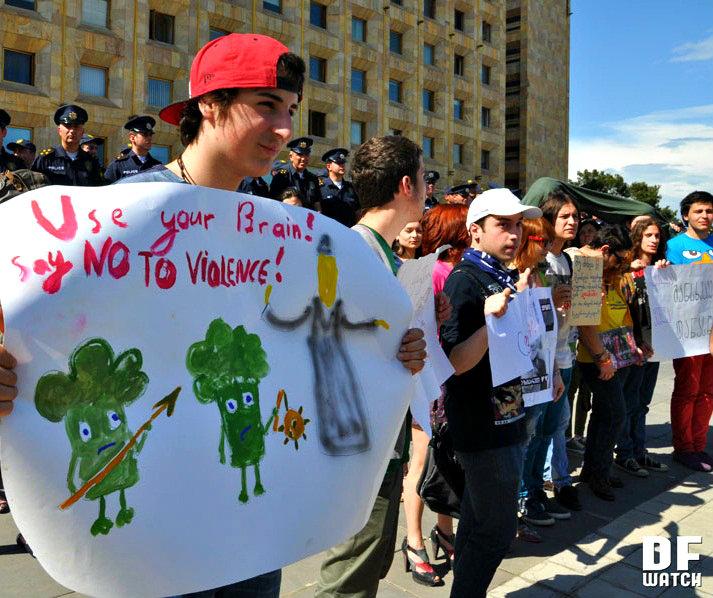 no to violence 2013-05-18