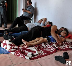 144 refugees live in a former building of children shelter (DFWatch Photo)