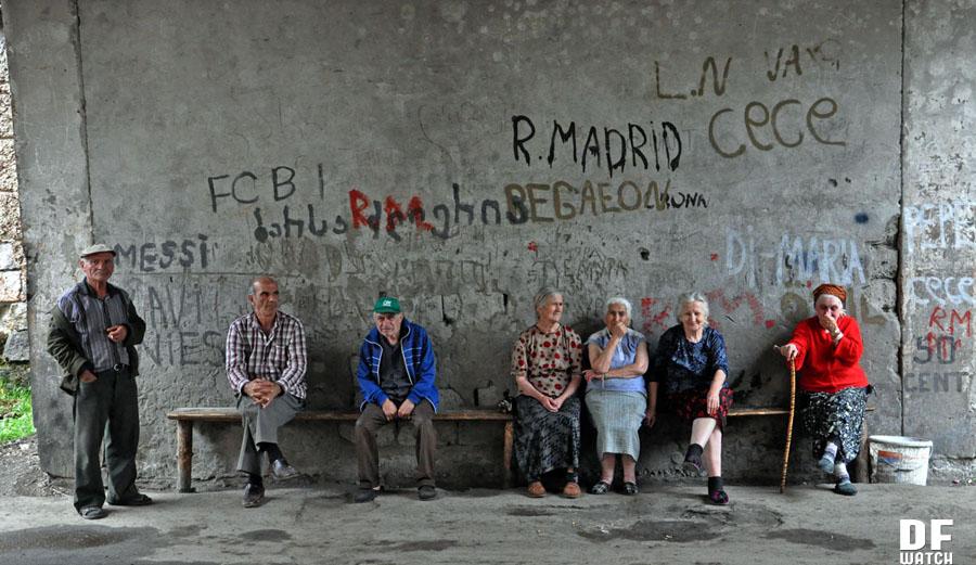 Residents of Likani Sanatorium (DF Watch photo)
