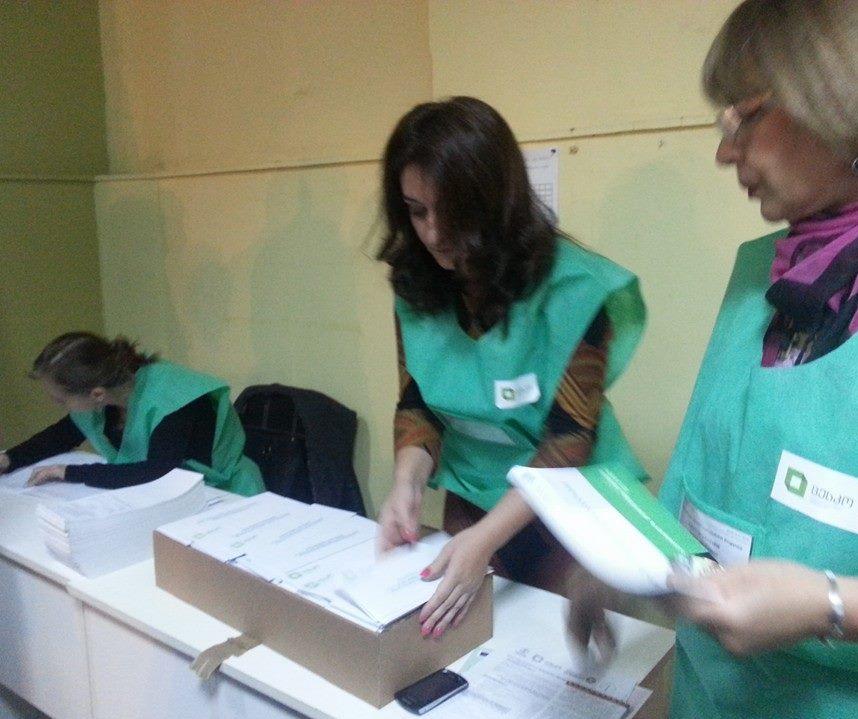 preparing_voting-papers_at_number_4_precinct_Tbilisi_2013
