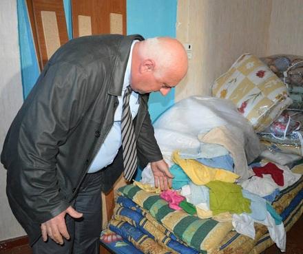 refugee supplies Bolnisi