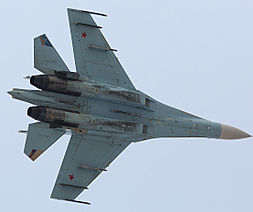 Sukhoi SU-27. (Photo: merlion86.)