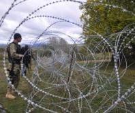 razor wire border south ossetia