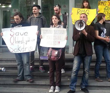 sakdrisi_demonstration_2014-04-19