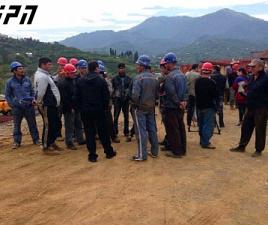 road_workers_strike_rustavi