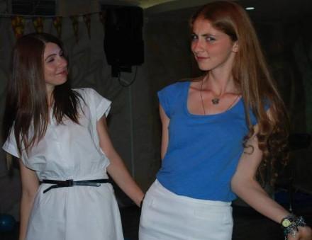 Liza (left) and Indira Zarandias (Facebook)