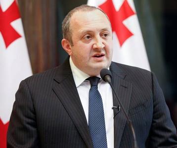 Georgian president slams blueprint for new Constitution