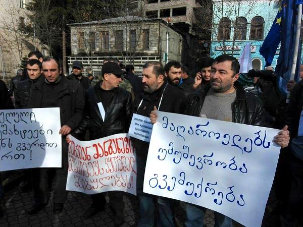 chiatura_miners_protest