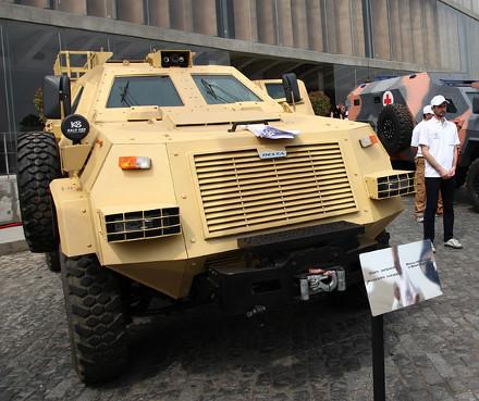 Georgia to supply armored medevac vehicles to Saudi Arabia