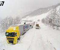 Restrictions on some mountain roads due to snow and ice