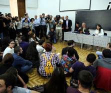 Student activists interrupt opening ceremony at TSU