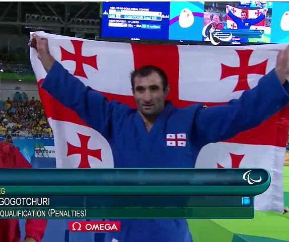 Zviad Gogochuri wins Georgia's first ever Paralympics gold