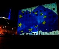 Georgians celebrate start of visa-free travel to Europe