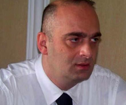 Anti-immigration activist Sandro Bregadze