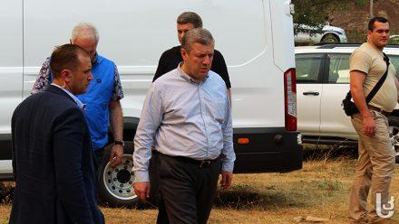 Giorgi Kvirikashvili said the Borjomi forest fire has been contained