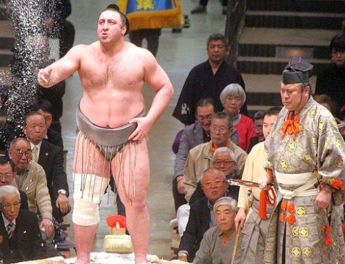 Georgian wins sumo wrestling championship in Japan