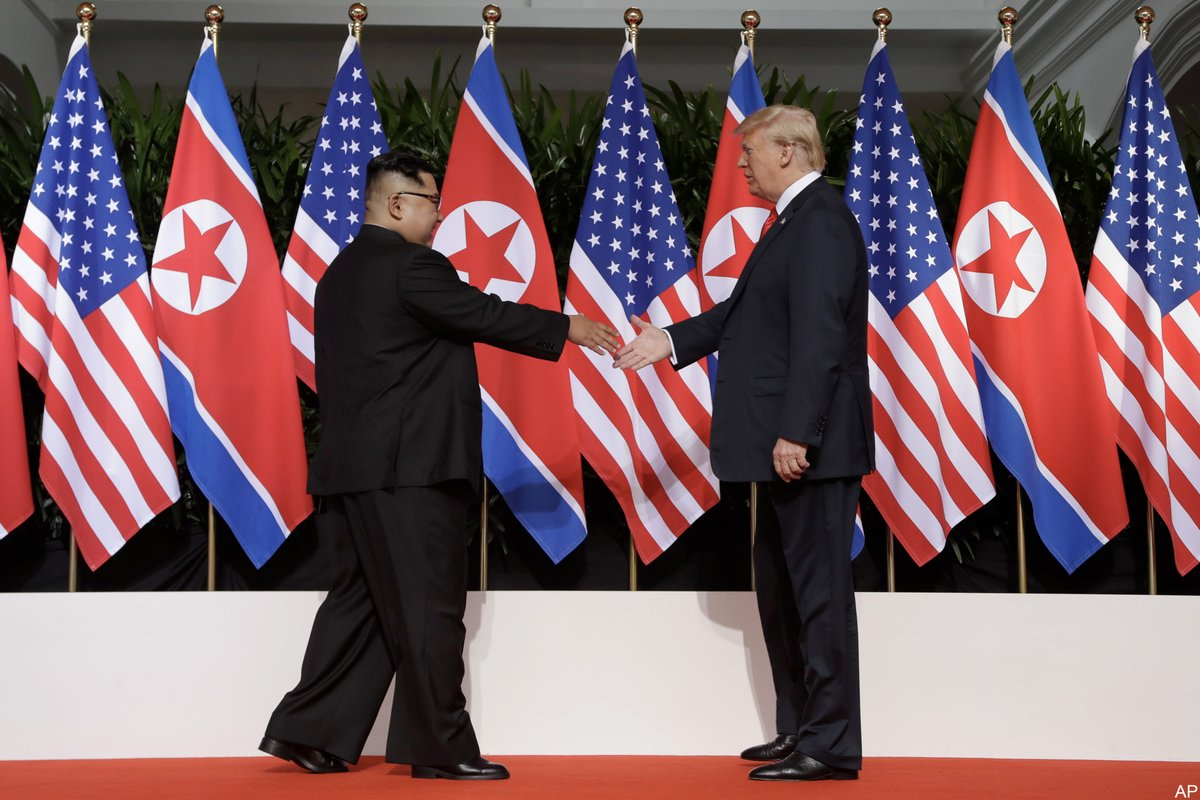 Trump about Kim: I like him, he's a funny guy, very smart