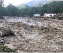 Landslide triggers flooding, evacuation in Svaneti