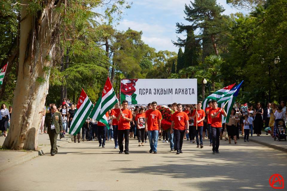 Georgian schools ordered to take part in Abkhazia's 'Victory Day'
