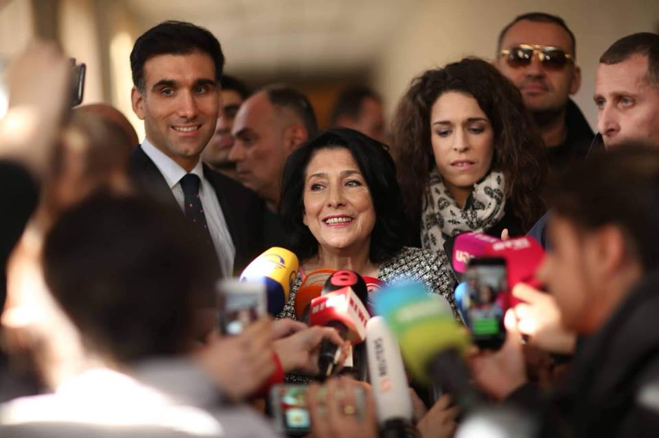 Exit polls show Salome Zurabishvili clear winner in Georgia's presidential election
