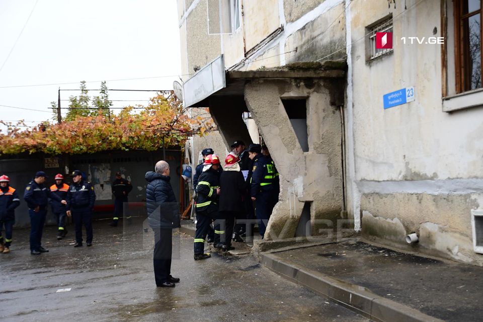 Gas explosion claims the lives of mother and 9 month old son in Tbilisi