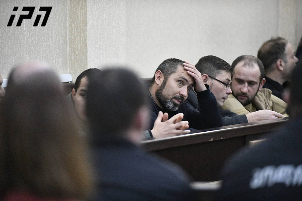 Seven jailed Donbass Battalion members plead not guilty, go on hunger strike in Tbilisi