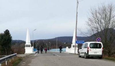 Движение на центральном мосту Ингури восстановлено