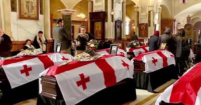 Останки семи мирных жителей, погибших в ходе августовской войны переданы грузинской стороне