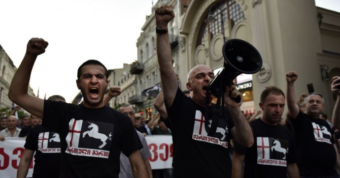 Georgian far-right groups reach agreement about forming new political party