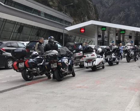 Russian bikers denied entry to Georgia