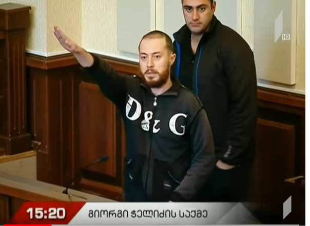 Georgian neo-Nazi sentenced to three and a half years in jail for storing weapons