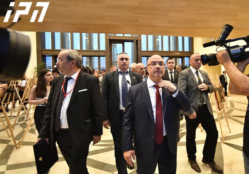 Russian Duma member evacuated from Tbilisi hotel amid angry protests after he presides over debate in Georgia's parliament building
