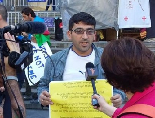 A critic of Azerbaijan government detained in Georgia, face extradition