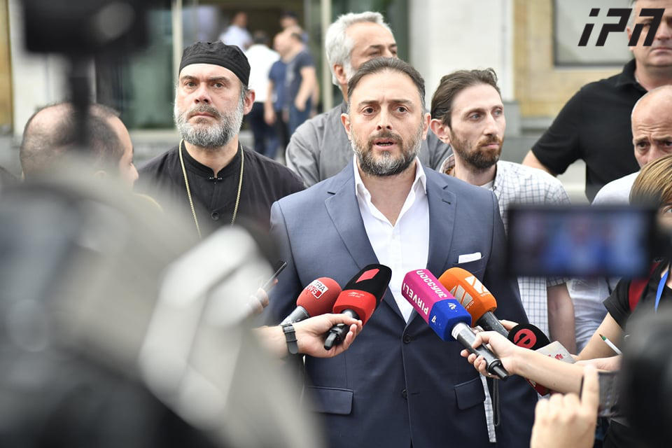 Nine detained in Tbilisi as conservatives and LGBT rights campaigners clash