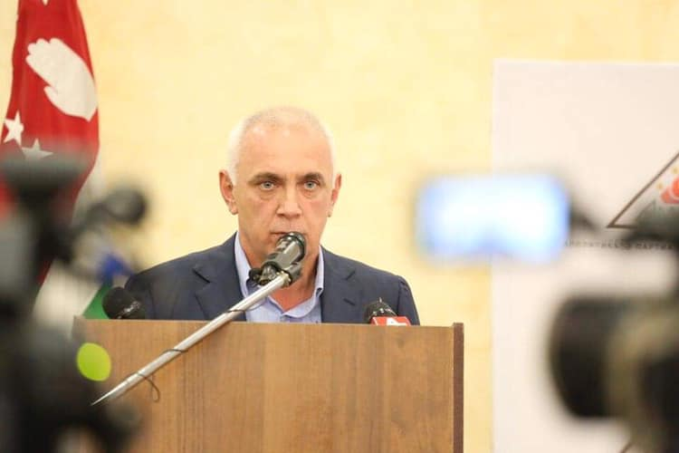 Main opposition candidate in Abkhazia stands down due to ill health, replacement vows to stay on same course