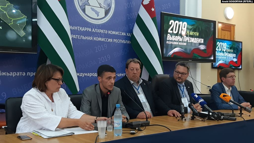 European far-right politicians praise Abkhazia election as free and democratic