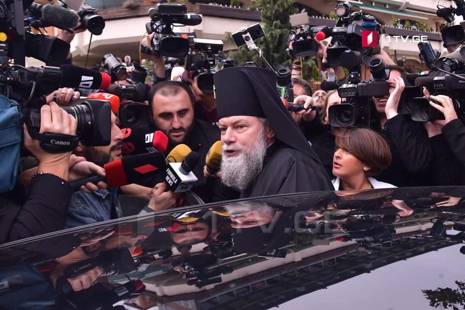 Cleric 'forcefully removed' from Holy Synod after 'indecent' accusation against Georgia's Patriarch