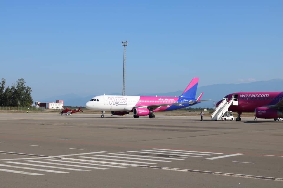 Wizzair drops 19 destinations from Kutaisi base: source