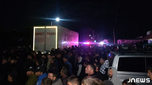 Locals in Javakheti blocked for several hours road at the border with Turkey
