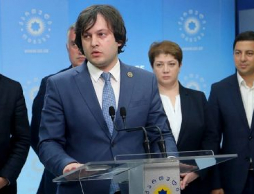 42-year-old Irakli Kobakhidze takes over reins of Georgia's ruling party as billionaire founder steps down
