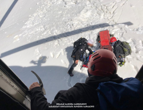 Fatal climbing accident in Svaneti, Georgia