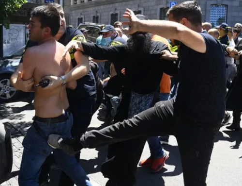 Dozens injured as far-right groups attack Tbilisi Pride, journalists